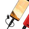 Кабель Momax One Link 3-in-1 Black USB to Micro-USB/Lightning/USB Type-C 1m