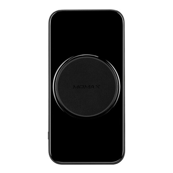 Внешний аккумулятор с беспроводной зарядкой Momax Q.Power 3 10000mAh 3-in-1 Black