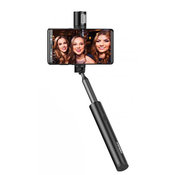 Селфи-палка для iPhone Momax Selfie Light