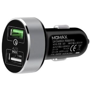 Купить Быстрая автозарядка Momax UC9 Black