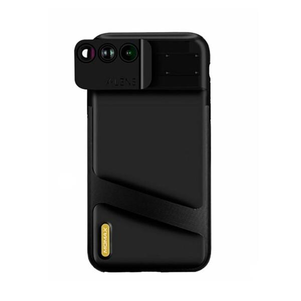 Чехол с объективами Momax X-Lens 3-in-1 Black для iPhone XR