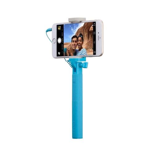 Монопод Momax Selfie Mini Mini 17cm Blue