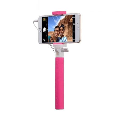 Монопод Momax Selfie Mini Mini 17cm Pink