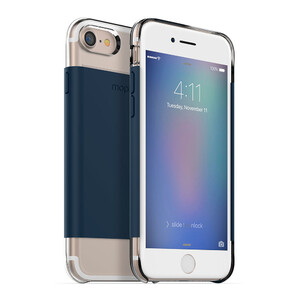 Купить Магнитный чехол Mophie Hold Force Base Case Navy Wrap для iPhone 7/8