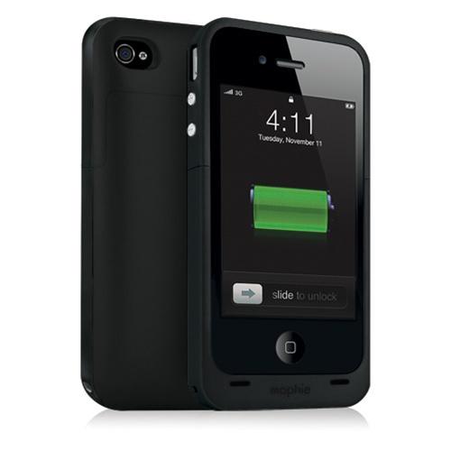 Чехол-аккумулятор Mophie Juice Pack Plus для iPhone 4/4S