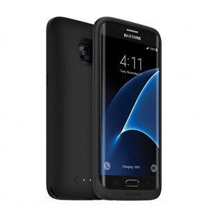 Купить Чехол-аккумулятор Mophie Juice Pack Black для Samsung Galaxy S7 Edge