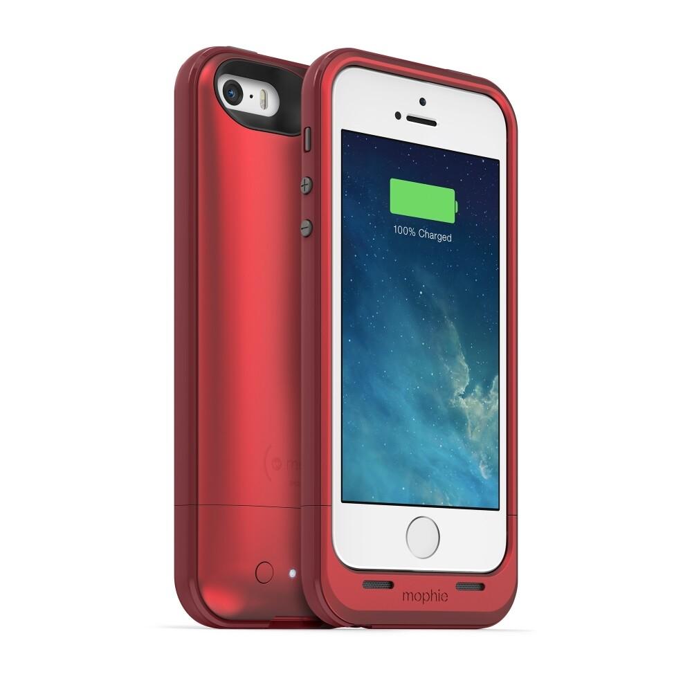 Чехол Mophie Juice Pack Plus RED для iPhone 5/5S/SE