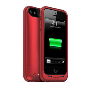 Купить Чехол Mophie Juice Pack Plus RED для iPhone 5/5S/SE