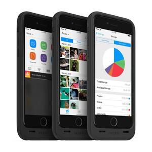 Купить Чехол Mophie Space Pack 32GB с аккумулятором и памятью для iPhone 6/6s