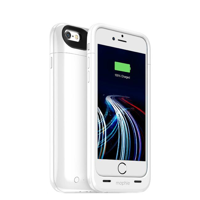 Чехол-аккумулятор Mophie Juice Pack Ultra Gloss White для iPhone 6/6s