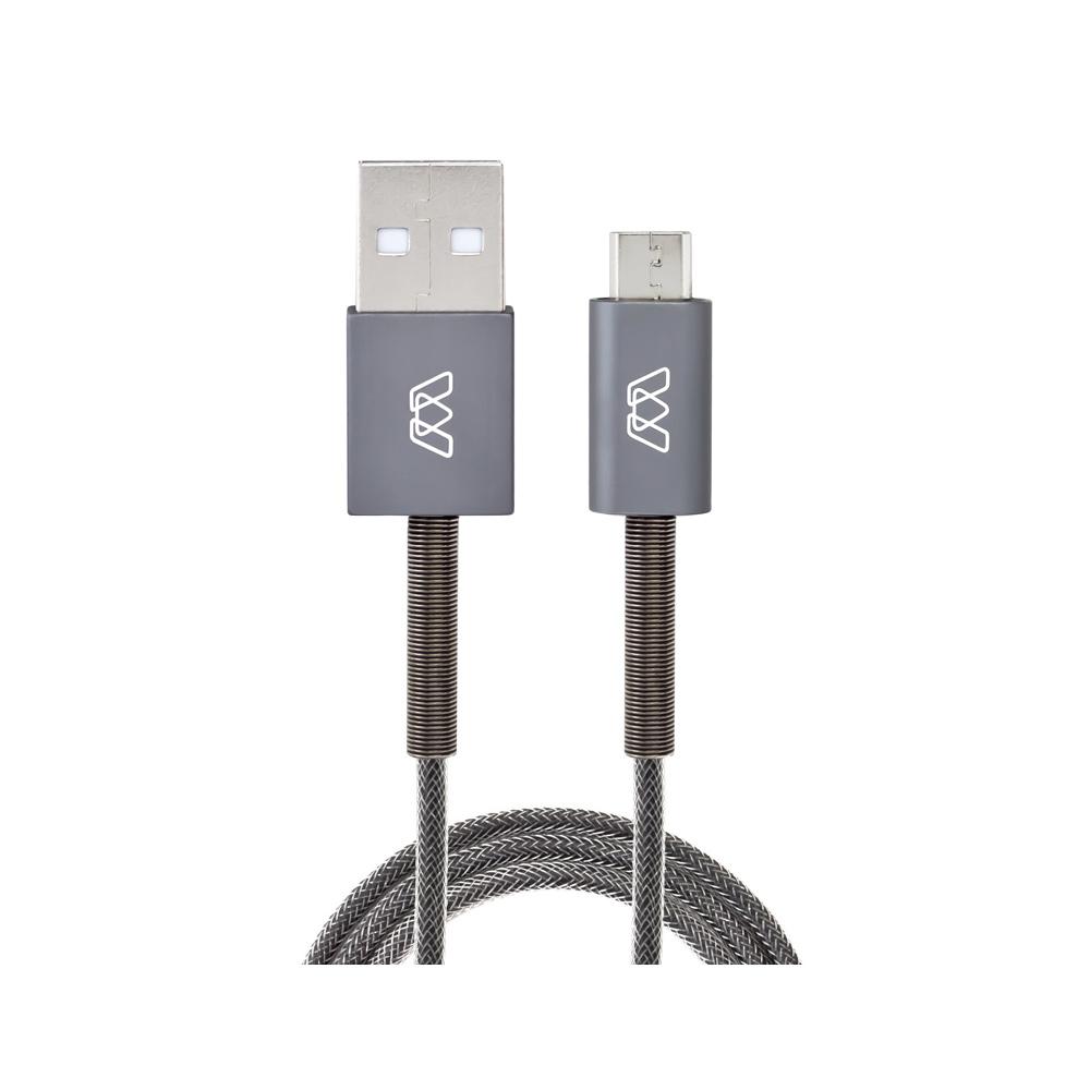 Купить Кабель MOS Spring Micro-USB Cable 1.8m