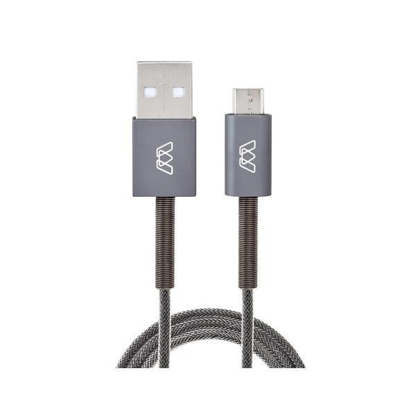 Кабель MOS Spring Micro-USB Cable 1.8m