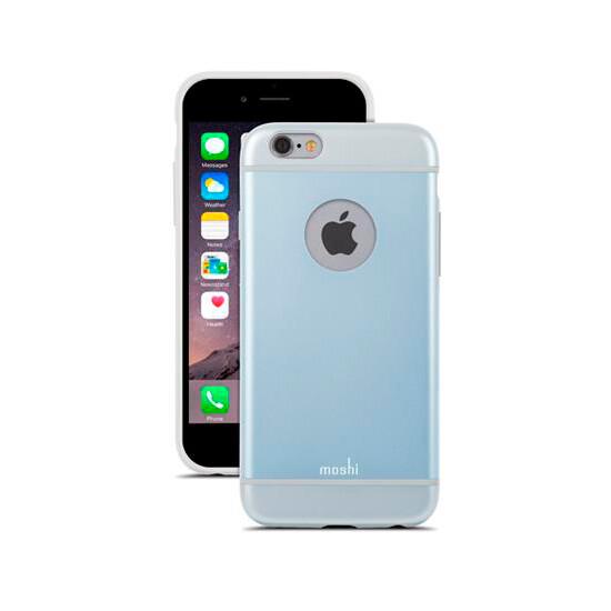 Чехол Moshi iGlaze Arctic Blue для iPhone 6/6s