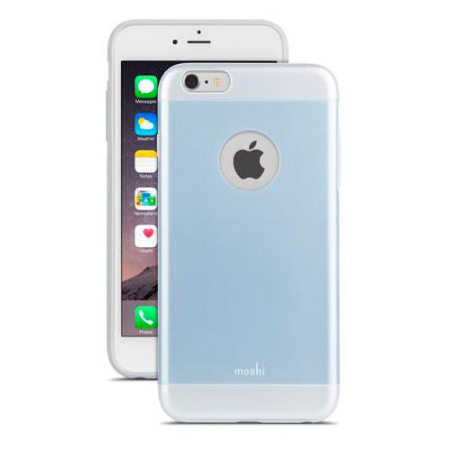 Чехол Moshi iGlaze Arctic Blue для iPhone 6/6s Plus