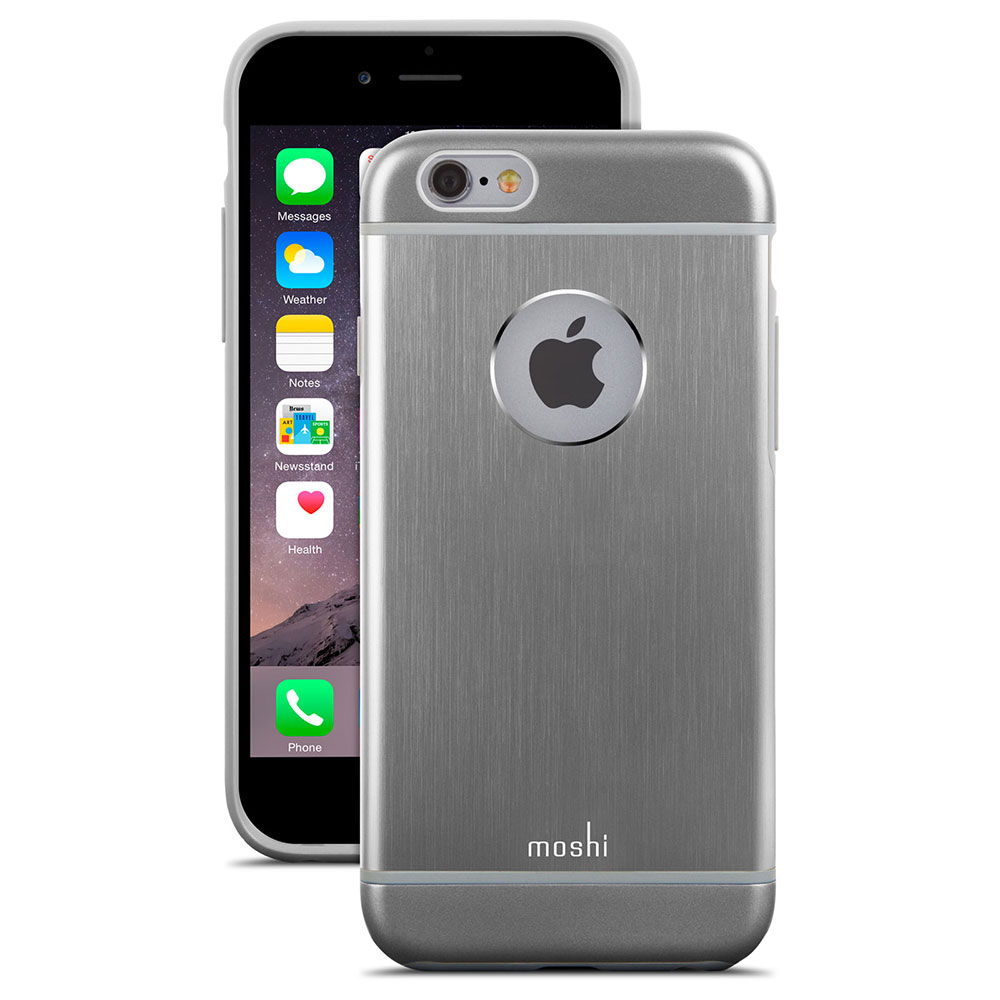 Купить Чехол Moshi iGlaze Armour Gunmetal Gray для iPhone 6 Plus | 6s Plus