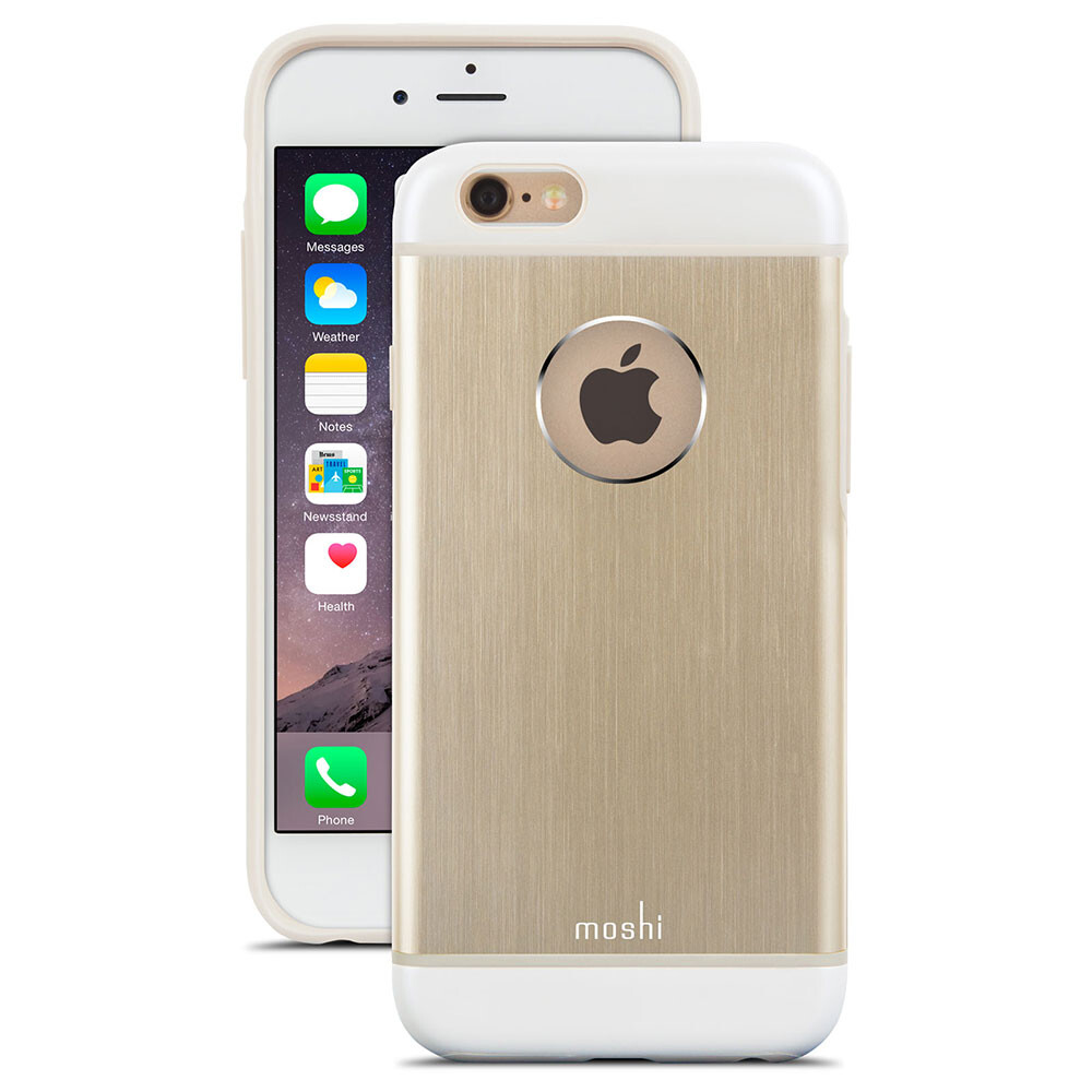Чехол moshi iGlaze Armour Satin Gold для iPhone 6/6s