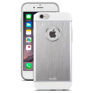 Купить Чехол moshi iGlaze Armour Jet Silver для iPhone 6 Plus/6s Plus