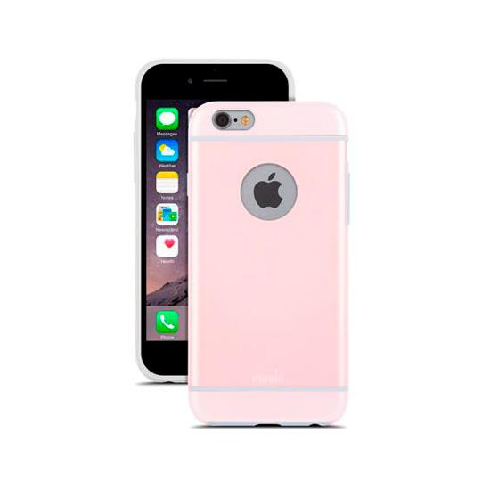 Чехол Moshi iGlaze Carnation Pink для iPhone 6/6s