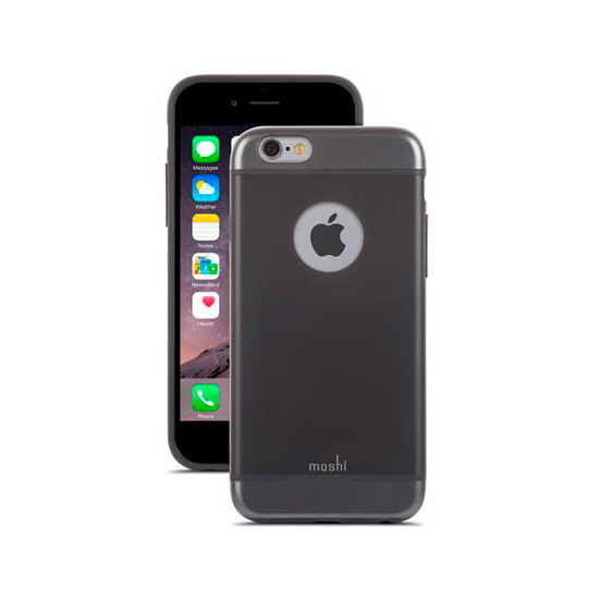 Чехол Moshi iGlaze Graphite Black для iPhone 6/6s