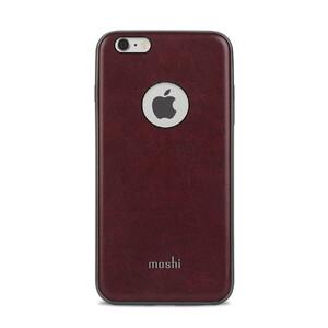 Купить Кожаный чехол Moshi iGlaze Napa Burgundy Red для iPhone 6/6s Plus