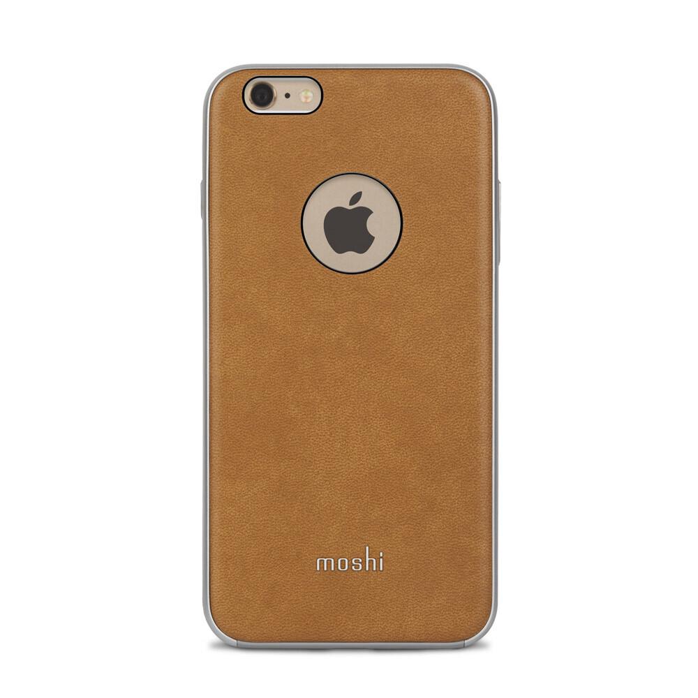 Кожаный чехол Moshi iGlaze Napa Caramel Beige для iPhone 6 Plus/6s Plus