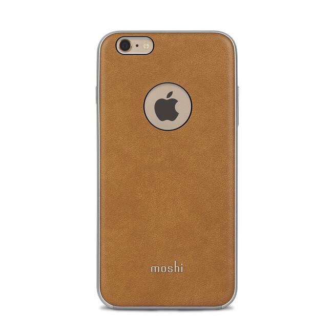 Кожаный чехол Moshi iGlaze Napa Caramel Beige для iPhone 6/6s Plus