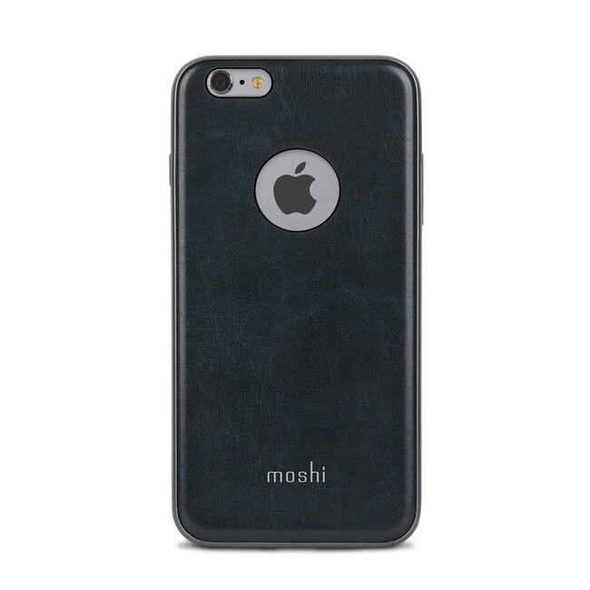 Кожаный чехол Moshi iGlaze Napa Midnight Blue для iPhone 6/6s