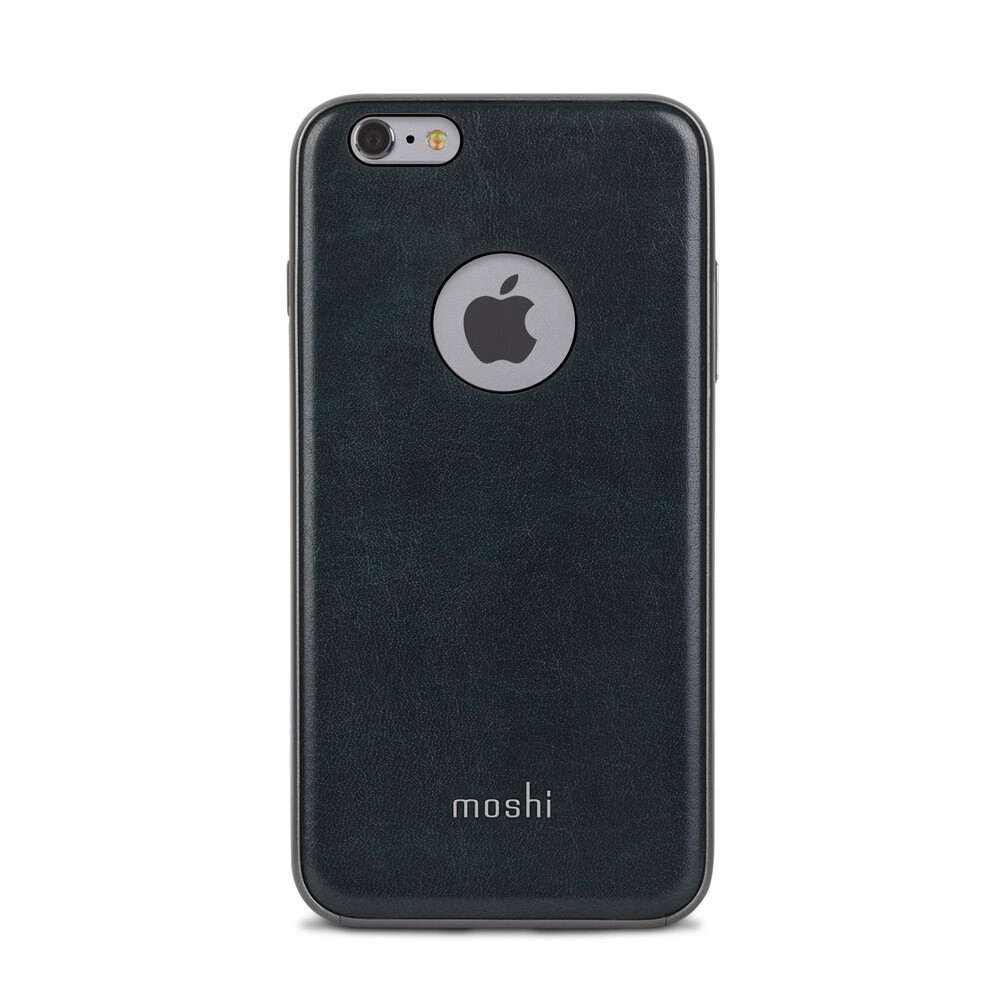 Кожаный чехол Moshi iGlaze Napa Midnight Blue для iPhone 6 Plus/6s Plus