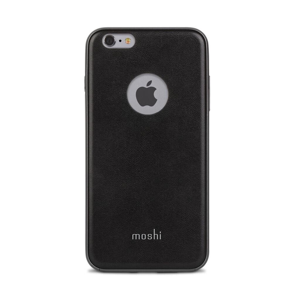 Кожаный чехол Moshi iGlaze Napa Onyx Black для iPhone 6/6s