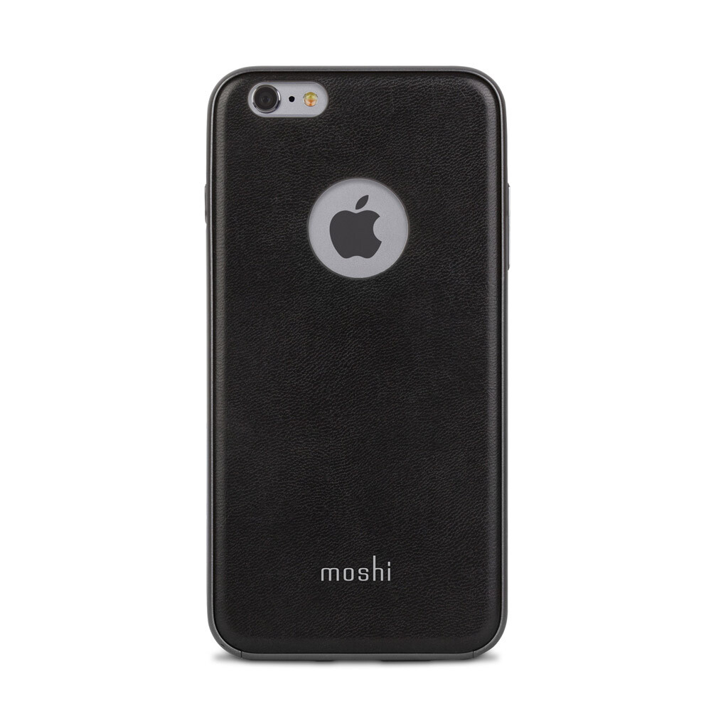 Кожаный чехол Moshi iGlaze Napa Onyx Black для iPhone 6 Plus/6s Plus