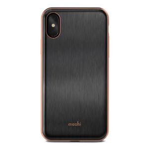 Купить Чехол-накладка Moshi iGlaze Armour Black для iPhone X/XS