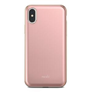 Купить Чехол-накладка Moshi iGlaze Taupe Pink для iPhone X/XS