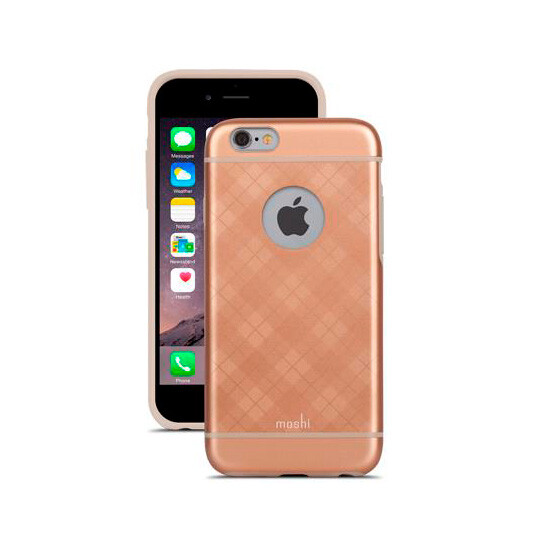 Чехол Moshi iGlaze Tartan Rose для iPhone 6/6s