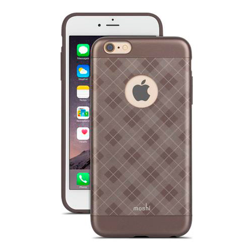 Чехол Moshi iGlaze Tartan Walnut для iPhone 6/6s Plus
