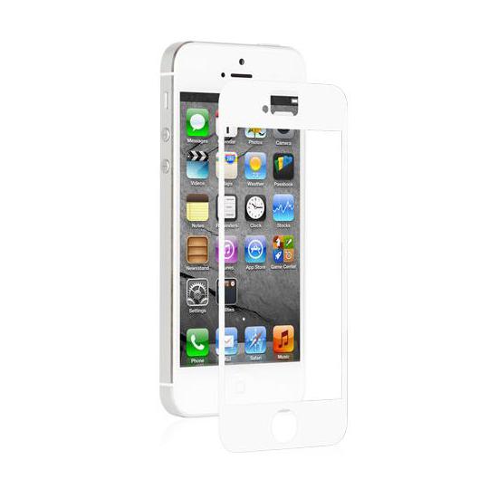 Защитная пленка Moshi iVisor AG White для iPhone SE | 5S | 5C | 5