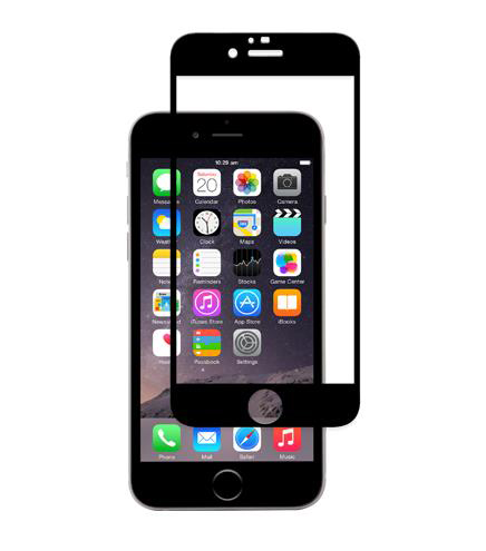 Защитное стекло moshi iVisor Black для iPhone 6/6s