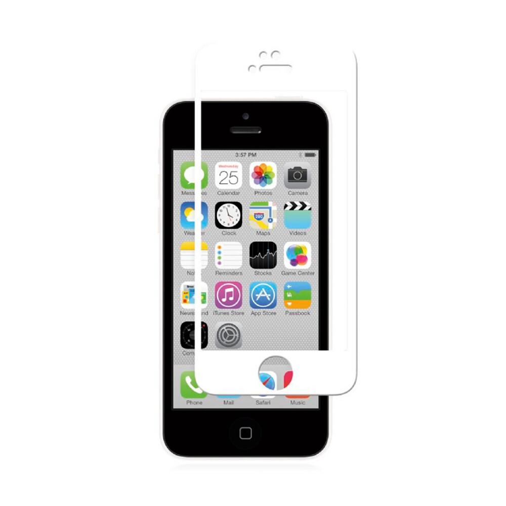 Защитное стекло Moshi iVisor Glass White для iPhone 5/5S/SE/5C
