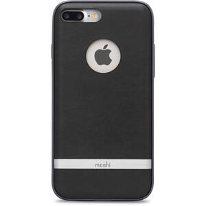 Купить Защитный чехол Moshi Napa Charcoal Black для iPhone 7 Plus/8 Plus