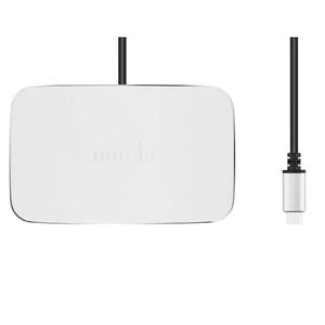 Купить Док-станция Moshi Symbus Compact USB-C Dock Jet Silver