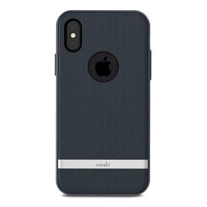 Купить Чехол-накладка Moshi Vesta Bahama Blue для iPhone X