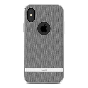 Купить Чехол-накладка Moshi Vesta Herringbone Gray для iPhone X