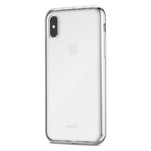 Купить Чехол-накладка Moshi Vitros Jet Silver для iPhone X