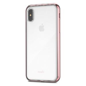 Купить Чехол-накладка Moshi Vitros Orchid Pink для iPhone X