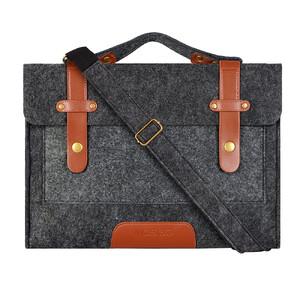"""Купить Сумка из войлока Mosiso Shoulder Bag Black для Macbook Pro 13"""""""