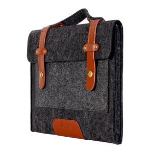 """Купить Сумка из войлока Mosiso Shoulder Bag Black для Macbook Pro 15"""""""