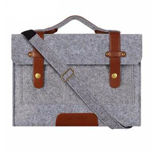 """Купить Сумка из войлока Mosiso Shoulder Bag Gray для Macbook Pro 13"""""""