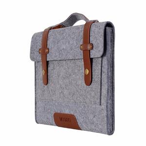 """Купить Сумка из войлока Mosiso Shoulder Bag Gray для Macbook Pro 15"""""""