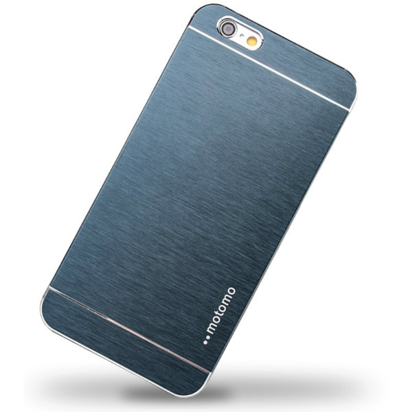Чехол Motomo Aluminum Shell Dark Blue для iPhone 5/5S/SE