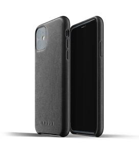 Купить Кожаный чехол MUJJO Full Leather Case Black для iPhone 11
