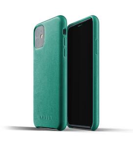Купить Кожаный чехол MUJJO Full Leather Case Alpine Green для iPhone 11